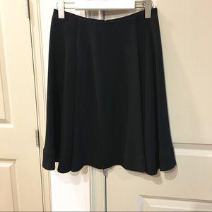 Louis Vuitton Uniformes Black A-line Skirt 36